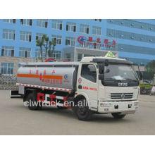 2015 venta caliente Dongfeng DLK 6-8 M3 camión cisterna, camión de transporte de combustible 4x2