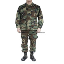 Military Combat Bdu Uniforms in Woodland Camo