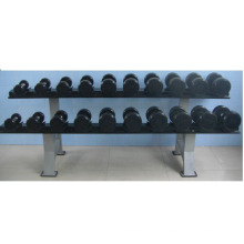 High quality Rubber coated Dumbbell fitness equipment