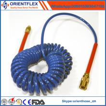 Tuyau pneumatique en nylon de la spirale L de PA pneumatique