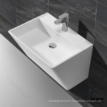 KKR piédestal d'évier de récipient à surface solide acrylique