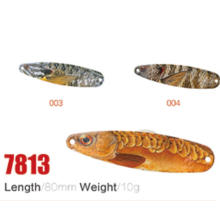 High Quality Wholesale 80mm 10g Fishing Spoon Lures