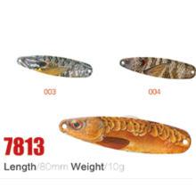 Высокое качество Оптовая продажа 80 мм 10 г Рыбалка ложка приманки