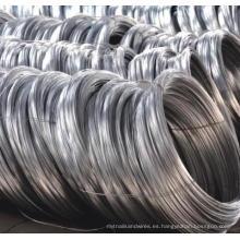 Electro galvanizado vinculante de alambre de hierro