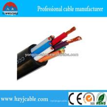 H07rn-F Cable de soldadura de caucho Cable de soldadura Especificaciones Normas IEC60245 Cobre PVC Cable de soldadura
