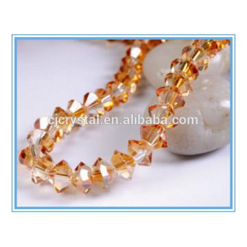 Perles de verre de soucoupe volante