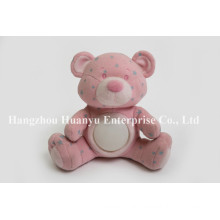 Fábrica de suministro Baby noche rosa luz del oso de juguete
