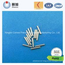 ISO-Fabrik-Kohlenstoffstahl-Metallstift für Hauptanwendung