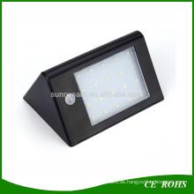 Wählen Sie die beste Wand montiert Garten Street Light Hot 20 LED Sensitive Motion Sensor Solar Wandleuchte mit Ce RoHS
