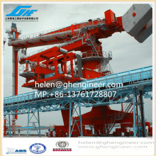 Vertical Screw Type Ship Unloader para tratamento e transporte de cimento