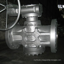 Flange/Flanged Connection End Plug Valve