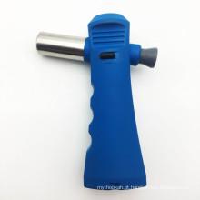 Forte solda brasagem ferramenta de gás recarregável azul isqueiros da tocha (ES-TL-010)