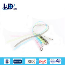 Cute girl clear multi-color plastic belts