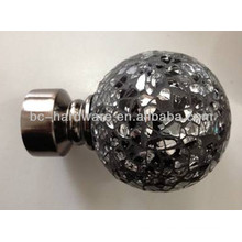 classical crystal curtain finial 19mm