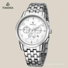 Mode Edelstahl Chronograph Uhr für Männer