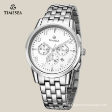 Fashion Stainless Steel Chronograph Watch for Men