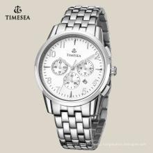 Мода из нержавеющей стали хронограф часы для мужчин