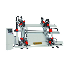 Máquina de prensado de esquinas de aluminio de cuatro cabezales CNC