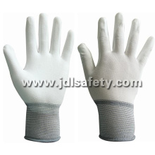 Ce Approved 18 Gauge Work Glove with PU Dipping (PN8001-18)