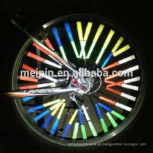 Reflector / tiras de advertencia reflectantes / reflector de luz de rueda de bicicleta