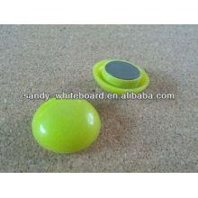 Kunststoff Magnetknopf, Kunststoff beschichtet Magnet, runde Magnetknopf, Whiteboard Zubehör, 30mm XD-PJ202-2