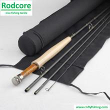 9ft6in 4PC 5wt Быстрое действие 40t Carbon Fly Rod