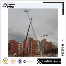 30m Auto-Raising System High Mast With Round Crown