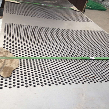 316 Stainless steel Punched Round Hole Sheet