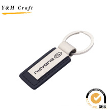 Promotional Custom Blank Car Logo PU Leather Keychain