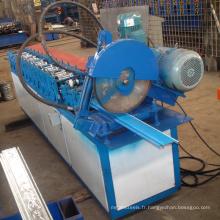 Hebei xinnuo CE certificat sculpture roll up volet roulant porte bande latte rouleau formant la machine