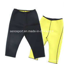Deporte de neopreno adelgazando pantalones cortos para hombres (snnp03)