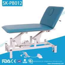 Cama do sofá do exame médico de aço inoxidável de SK-PB012