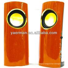 Пластиковый динамик YM-M60 с самой горячей распродажей 2.0 с наушниками / микрофоном 35 мм