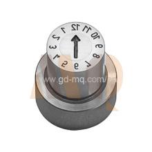 Componentes de molde de precisión de sello de fecha alta precisión (MQ2124)