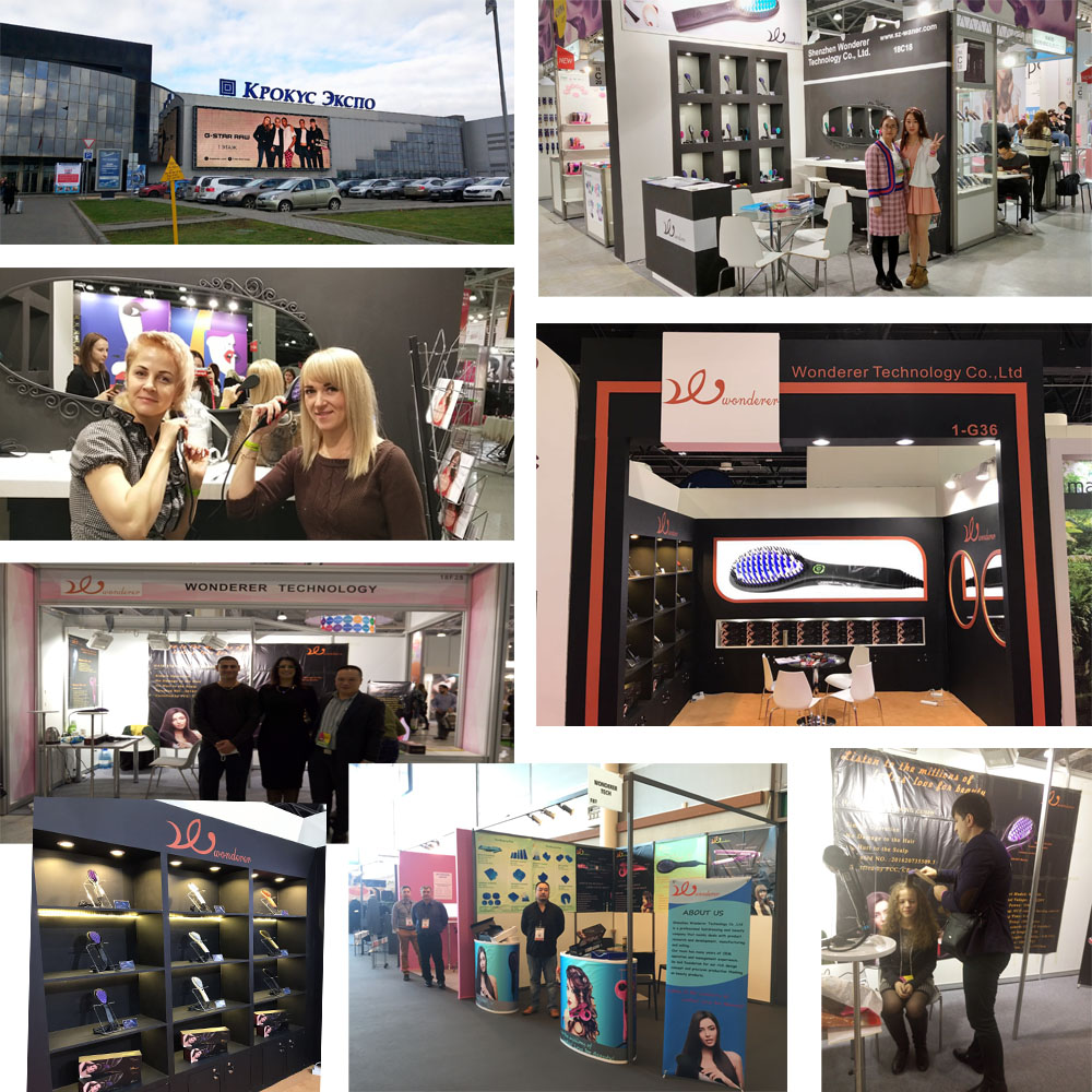 Hair Straightening Brush Exhibitions