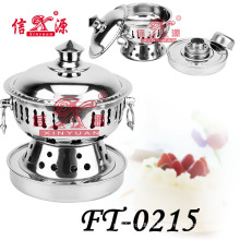 Stainless Steel Small Stove Pot for Hot (FT-0215)