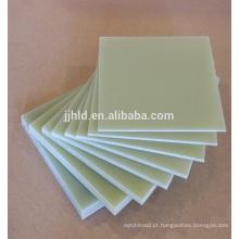 Fabricação de laminados de fibra de vidro