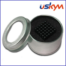 Tin Box with Window Magnetic Balls Set (T-006)