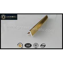 Glt144 Alumínio T Forma Faixa Decoração Trim Perfil Ouro