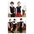 De nouveaux uniformes scolaires à la mode de nouveaux enfants, conception uniforme d'université primaire