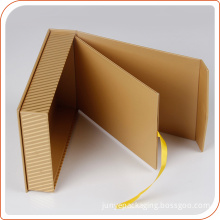 High Quality Magnetic Package two layers cardboard box for gift