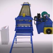 Machine de fabrication de platelage
