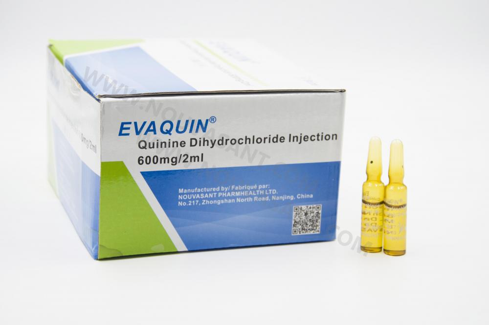 Quinine Dihydrochloride Injection 600mg 2ml