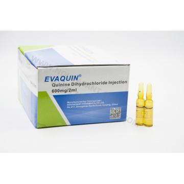 Quinine Dihydrochloride Injection 600mg / 2ml