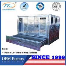 cajas de perro de cama de aluminio de encargo del perro de caza