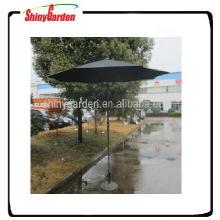 paraguas de alumbre de jardín con paraguas de sol de paraguas de patio inclinable
