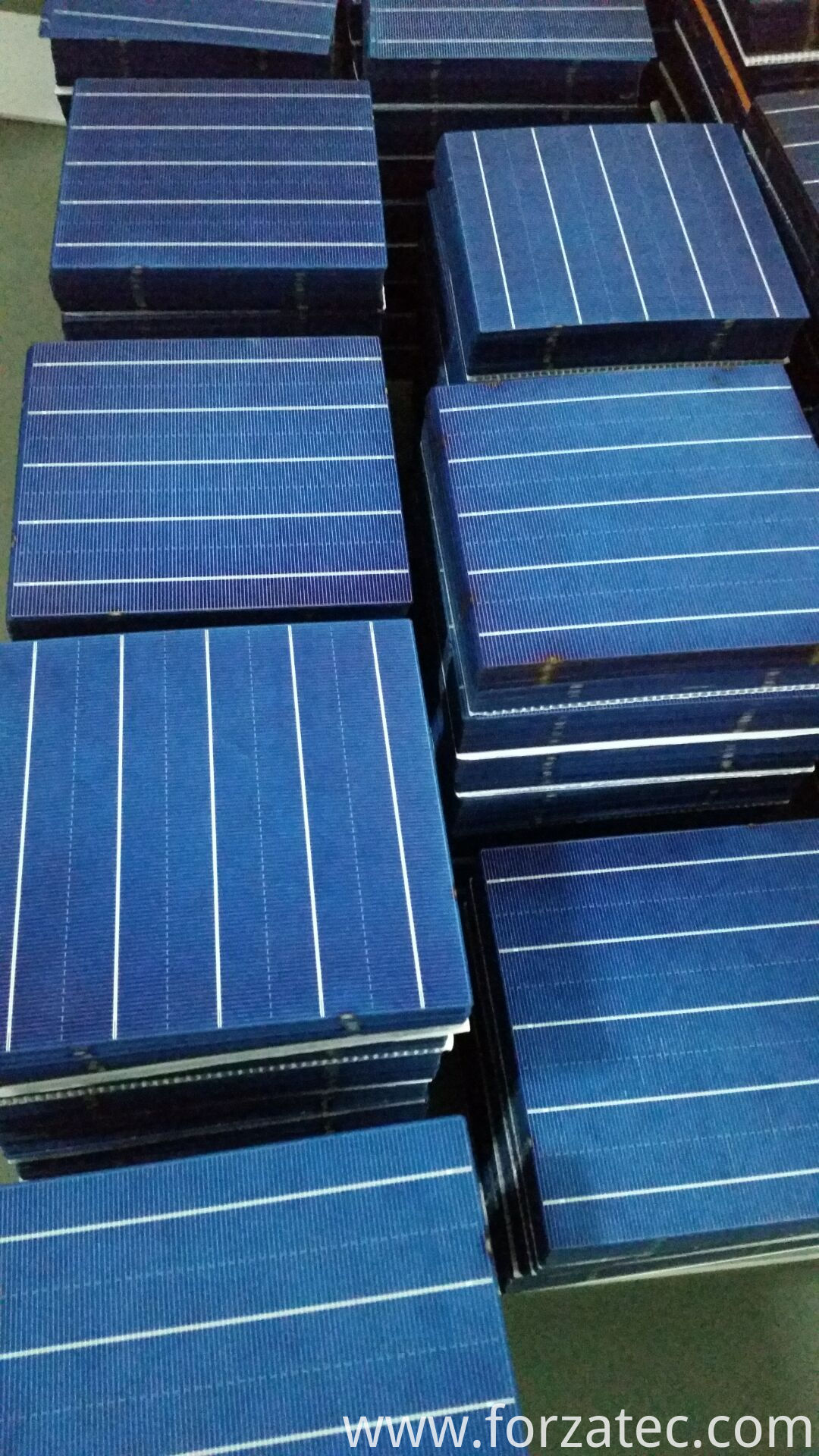 solar cell of 5 busbar