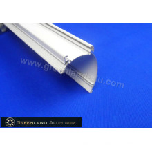 Aluminium Cover Cap for Roller Blinds with White Color Powder Coated