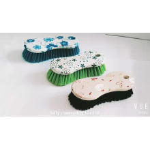 Eco-Friendly Plastic Floor Kitchen Scrub Brush Cleaning Tool For Decontamination