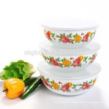 custom enamel ice bowl of hot selling & cheap Chinese enamelware